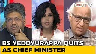 Yeddyurappa Resigns, BJP Skips Floor Test In Karnataka