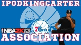 NBA 2K13 Association: Philadelphia 76ers - Ep. 6 | Jay-Z Prank Call & Sixers New Year Resolution
