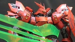 MG Sazabi ver.Ka (5: Weapons) MS Gundam: Char