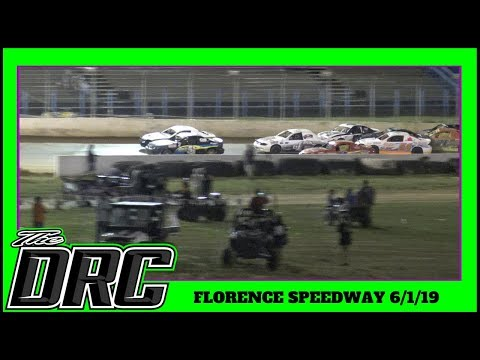 Florence Speedway | 6/1/19 | Hornets | Feature