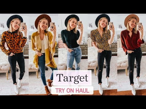 Fall Target Try On Haul | Fall 2019 Outfit Ideas