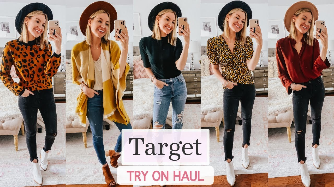 [VIDEO] - Fall Target Try On Haul | Fall 2019 Outfit Ideas 8