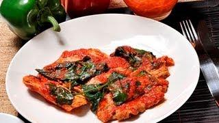 Cooking | Bistecs de puerco en salsa de guajillo Pork Steaks in Guajillo Sauce