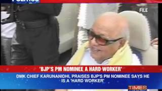 DMK Chief M Karunanidhi eyes BJP?
