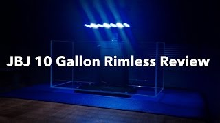 JBJ 10 Gallon Rimless All In One | Unboxing & Review