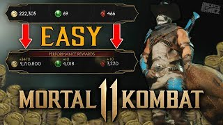 Mortal Kombat 11 - EASY Way To Get Koins, Hearts & Level UP!!