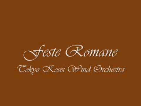 Feste Romane. Tokyo Kosei Wind Orchestra.