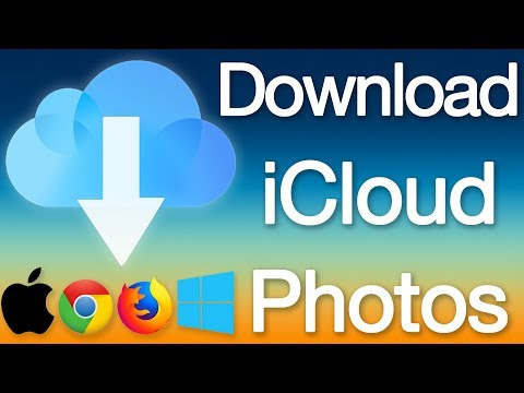 Transfer photos from icloud drive to pc