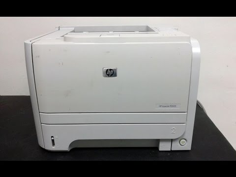 how to replace fuser assembly hp laserjet p2035 printer youtube. Black Bedroom Furniture Sets. Home Design Ideas
