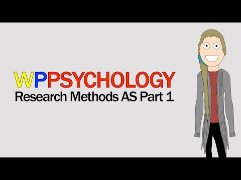 Research Methods AS: Part 1 | Psychology