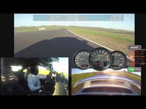 1:57.7 at Thunderhill in a 991 GT3