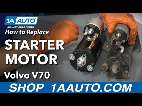 How to Replace Starter Motor 00-07 Volvo V70