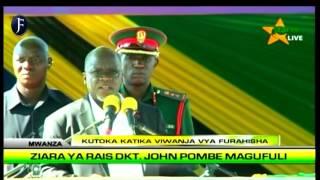 Hotuba ya Rais Magufuli Furahisha, Mwanza