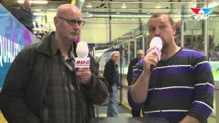 Interview Jan Vos hoofd beveliging Unis Flyers