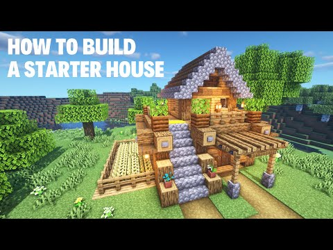 [Minecraft] How To Build A Starter House