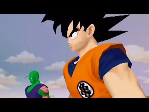 Dragon Ball Z Budokai 1 - Story Mode - Mysterious Alien Attack!! (Part 1) 【HD】