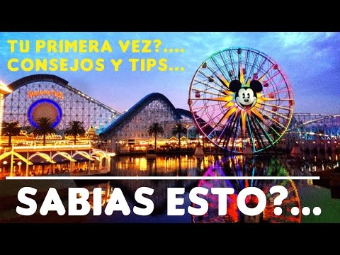 ✔DISNEYLAND PARK Primera Vez | Tips y Consejos | How Travel to Disneyland California first time