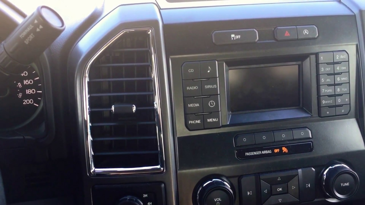 Ford F150 Navigation System >> 2016 F150 SYNC issues (blank screen) - YouTube