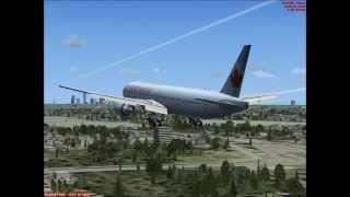 777-300ER Cancun to Miami FSX HD