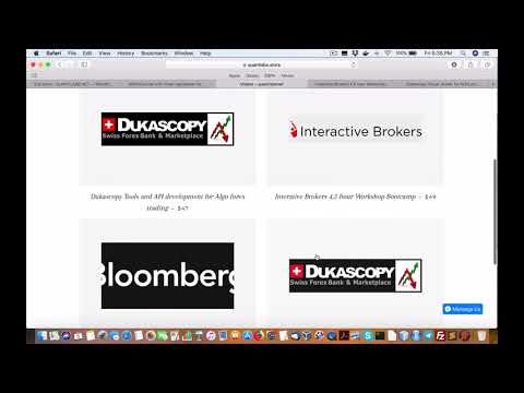 Video courses on Interactive Brokers and Dukascopy forex trading double soon copy