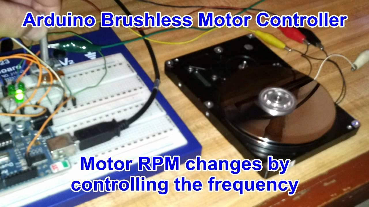 Arduino Brushless Motor Controller Funnycat Tv
