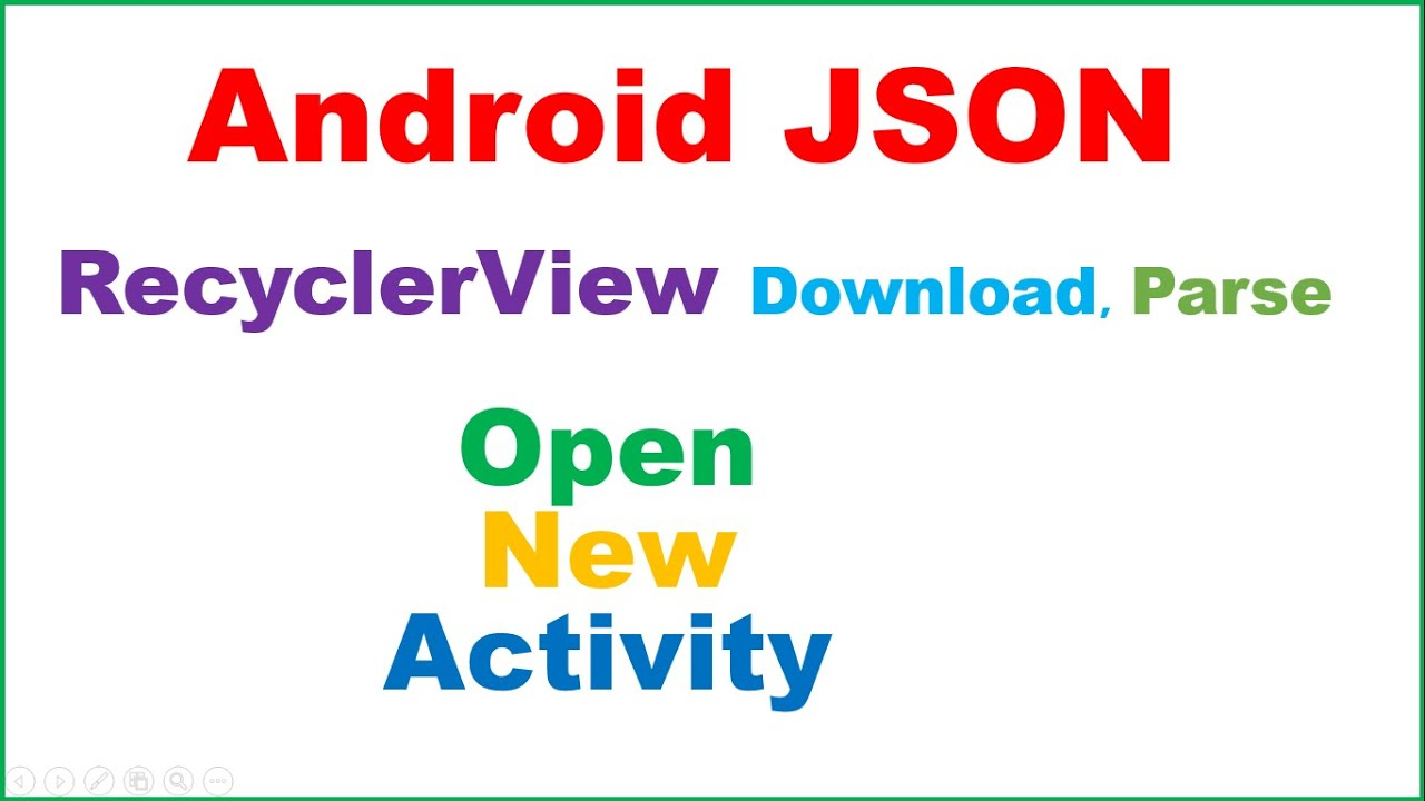 Android Native JSON Ep.10 : RecyclerView Master Detail - Download ...