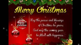Merry Christmas Wishes for friend,Greetings,Sms,Quotes,Sayings,Christmas Music,E-card,Whatsapp video