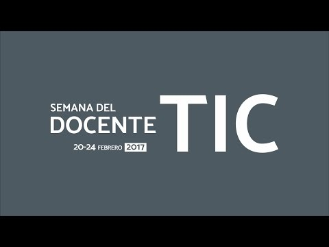 Semana del DocenteTic 2017- I
