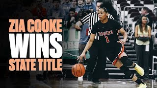 Zia Cooke Wraps Up Senior Year With State Championship - Full Highlights