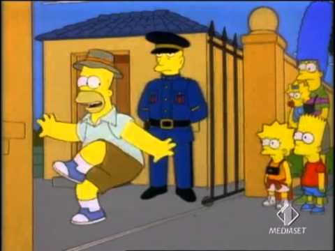 HOMER SIMPSON: Australia - America - YouTube