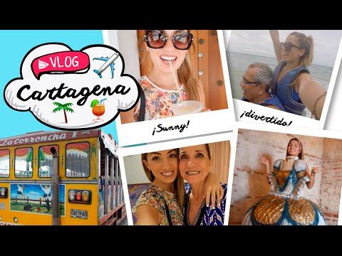 VLOG: ¡Viaje a Cartagena con mis papás!   Natalia Merino