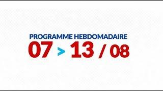 Programme de courses Equipe FDJ : semaine du 7 au 13 août