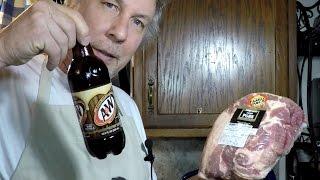 Pressure Cooker Root Beer Pulled Pork
