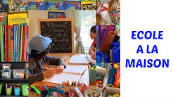 ÉCOLE À LA MAISON EN CONFINEMENT I HOME SCHOOL IN QUARANTINE