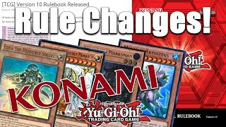 Video NEW YUGIOH RULES! Konami Makes HUGE Ruling Changes to the TCG! (We're like the OCG now for effects!) download MP3, 3GP, MP4, WEBM, AVI, FLV Juli 2018