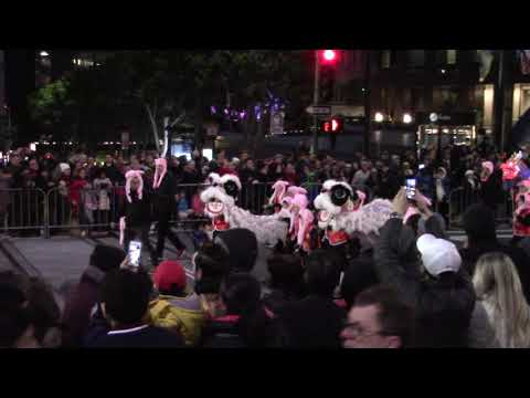 San Francisco Chinese New Year Parade 2019 Yick Wo Elementary School