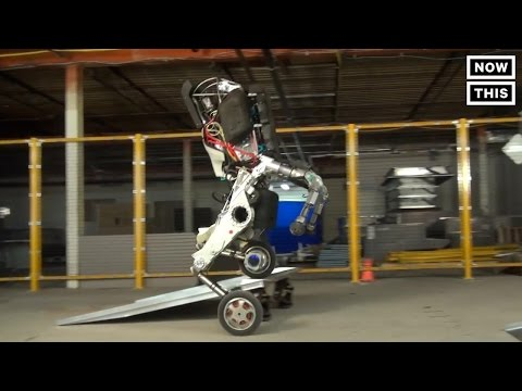 Boston Dynamic's Newest Robot Is Like A Horse On Roller Skates | NowThis