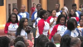 wpa children of the gospel dance to say yes by michelle williams