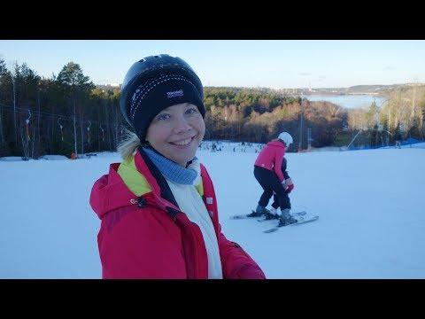 The best of Jola`s downhill skiing - Stockholm - Flottsbro 17.02.2018