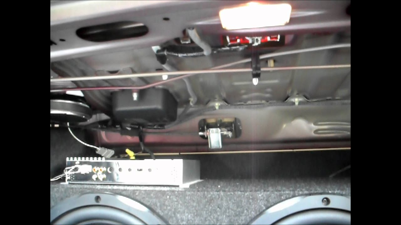 Fixing Rear Deck Rattle 2006 Honda Civic Lx 4dr Sedan