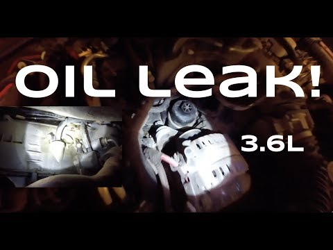 Oil Cooler / Filter Housing LEAK - 2014+ Jeep Wrangler JK - 3.6L Pentastar