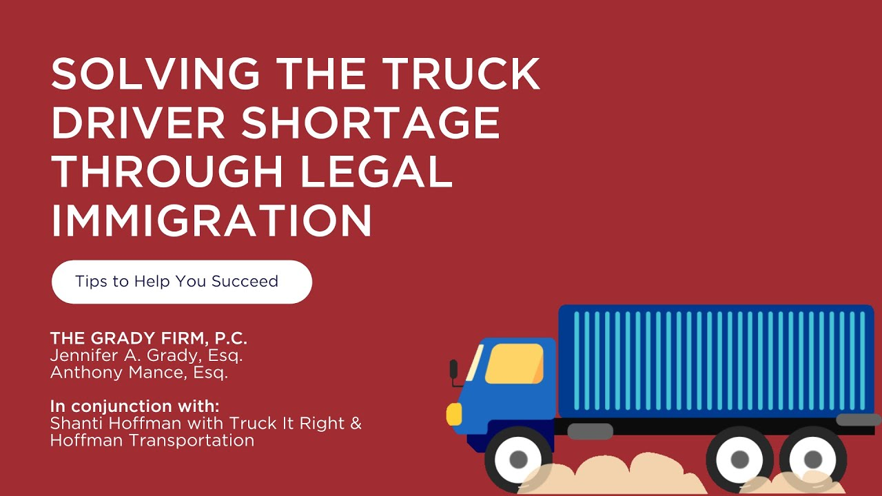 05 12 20  H 2B and EB 3 for trucking industry