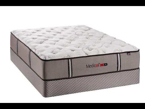 Beducation® - Therapedic® MediCoil HD™ HD 3000 Plush Mattress