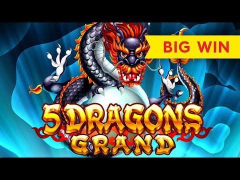 5 Dragons Grand Slot - BIG WIN BONUS - VICTORY!
