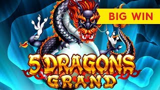 5 Dragons Grand Slot - BIG WIN BONUS - VICTORY!