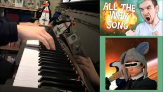 Jacksepticeye - ALL THE WAY - Songify Remix by Schmoyoho (Piano Cover by Amosdoll)