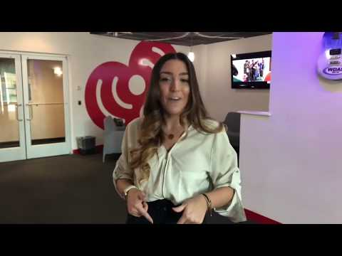 Rach On The Radio - iHeart Radio Behind-The-Scenes at Q102 Studios! [VIDEO]