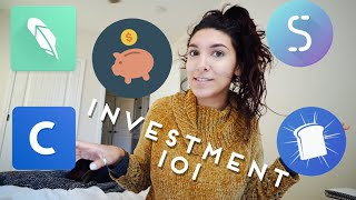 How I INVEST in STOCKS and BITCOIN   Helpful Apps