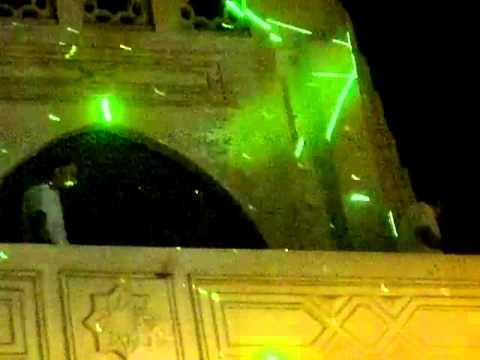 ضباط الشرطة والجيش يحييون المتظاهرين من شرفة قصر الاتحادية بعد بيان عزل مرسي  30 يونيو هو بجد عيد ال