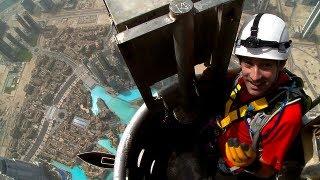 Dubai Vertigo: Climbing The World's Tallest Building The Burj Khalifa 2717 ft